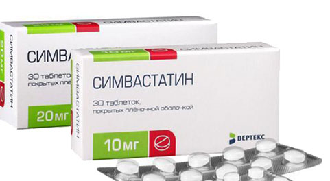 Pictures of simvastatin